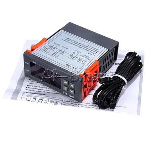 W1209 12V STC-100 STC-1000 All-Purpose Temperature Controller Thermostat W//NTC