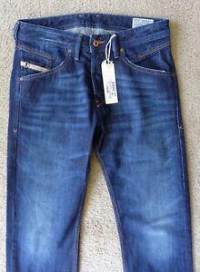 ac49e919 SALE: NEW DIESEL BELTHER 0R0S3 Men's REGULAR SLIM TAPERED BLUE Jeans ...