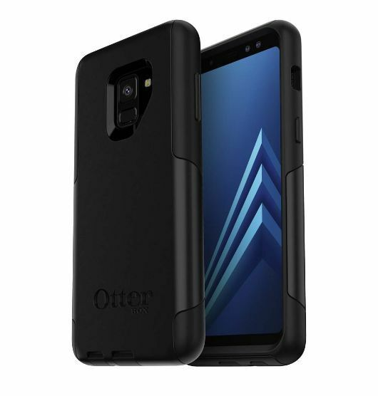 free shipping 562d0 d60ab OTTERBOX Commuter Series Tough Rugged Case Cover for Samsung Galaxy A8 -  Black