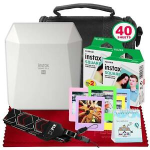 Fujifilm-Instax-SHARE-Smartphone-Printer-SP-3-White-with-Instant-Film-Deluxe