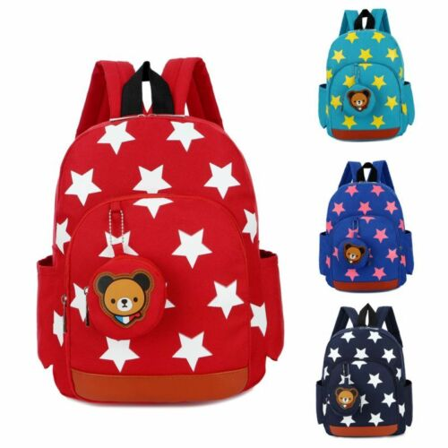 NEW Children Cute Kindergarden School Bags Backpack Boys Girls Travel Bag Kids