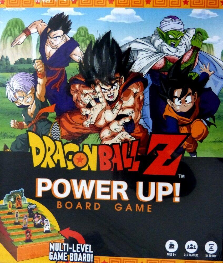 DRAGONBALL Z   Power Up  Board Game   Brettspiel  (Englisch)  NEU