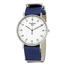 Tissot T-Classic Everytime White Dial Mens Watch T109.610.17.037.00