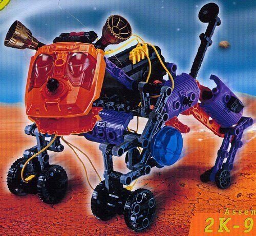 ROBOTIX 2k-9 DA COLLEZIONE  VINTAGE ANNO DI fare 1999 ULTRA RARA DA COLLEZIONE  punto vendita