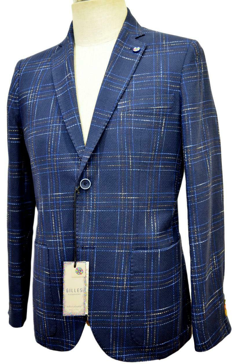 ALESSANDRO GILLES GIACCA men SLIM FIT MADE IN ITALY ART. G214 0738