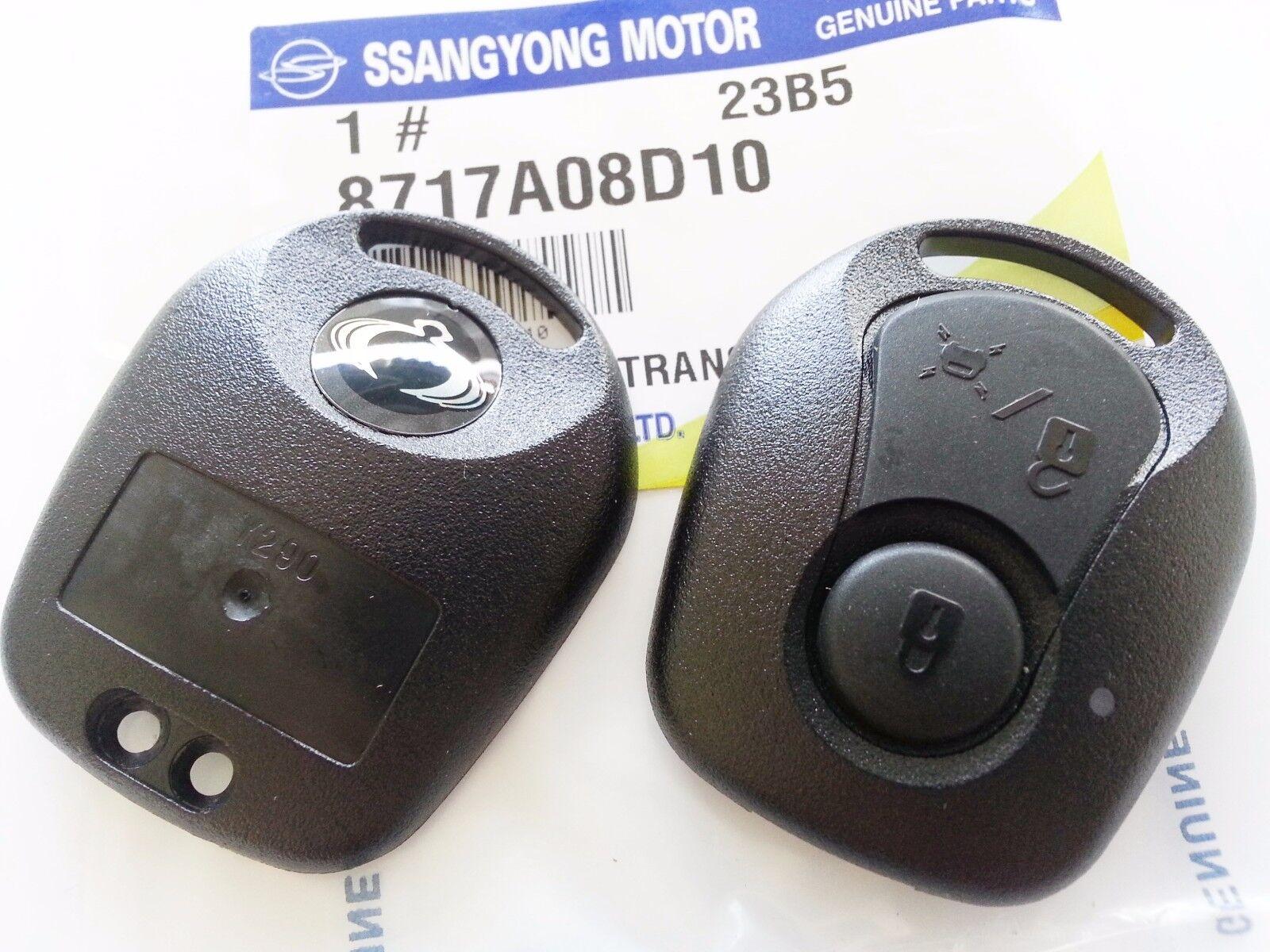 Sports Kyron Rxton 06-10 #8717A08D10 OEM Key Case Cover Knob Ssangyong Actyon