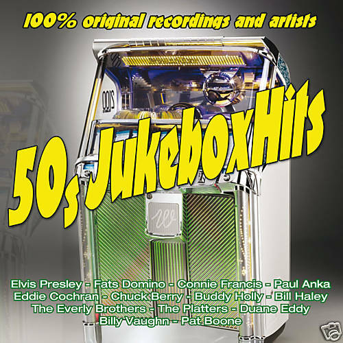 CD 50s Jukebox Hits by Various Artists 3 Cds