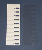 Lot Of 6 Toshiba Dkt 3010 And 3210 Desi Labels And Plastic Covers,