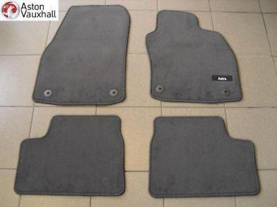 Vauxhall Astra H twintop Terciopelo alfombrillas juego De 4 Original Nuevo 2006-2010