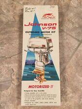JOHNSON V-75 MOTOR KIT FLEET LINE 813K-200 TOY MODEL COLLECTIBLE RARE OUTBOARD