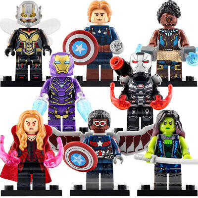 Nuovo Thor the Avengers Custom Minifigures MOC Compatibile LEGO