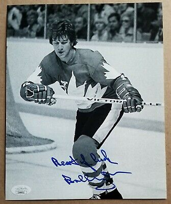 Boston Bruins great Bobby Orr Signed Autographed 1976 team ...