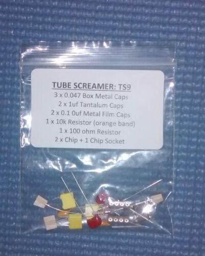 Ibanez TS9 Tube Screamer Pedal DIY Mod Kit for pedal Upgrade To TS808 Kit