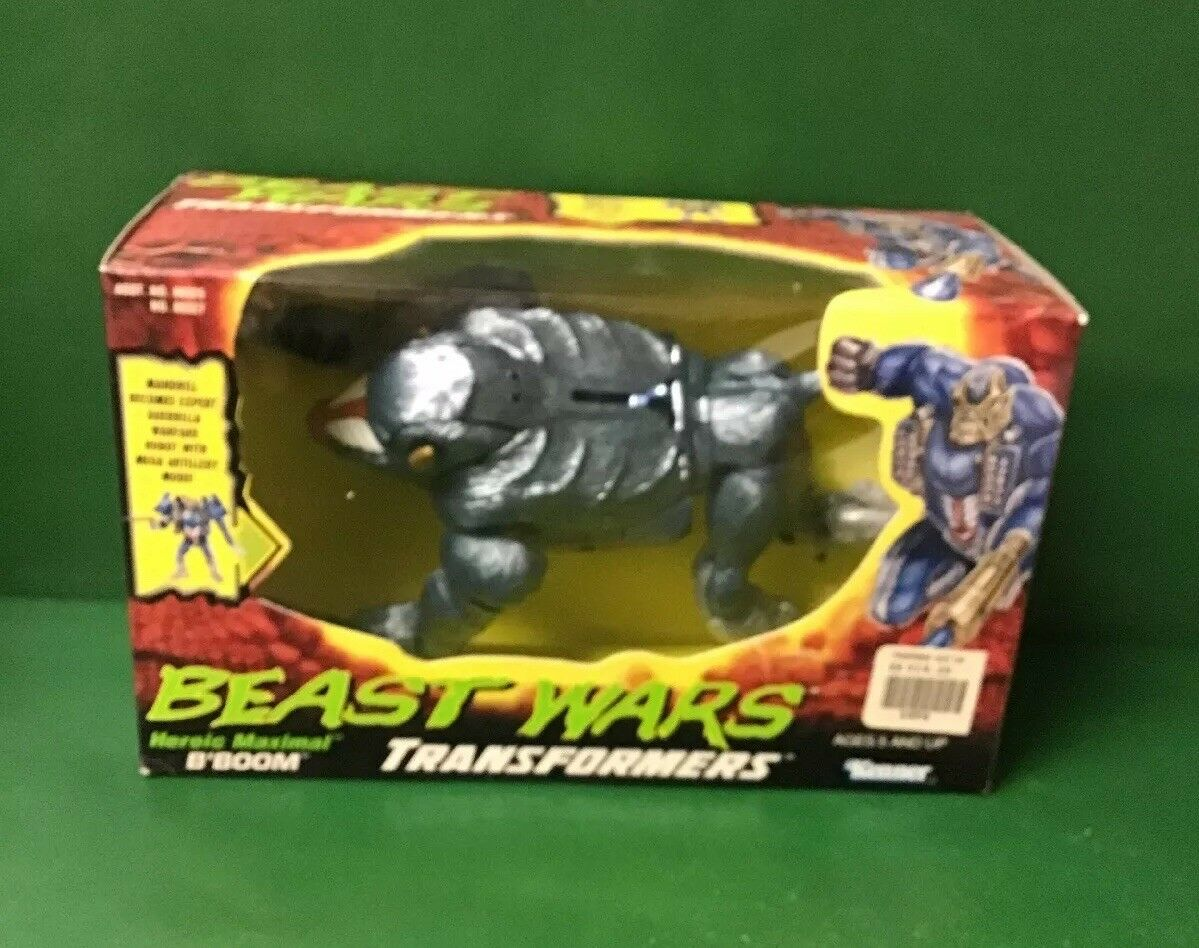 "1997 Beast Wars the Transformers ""MAXIMAL B'BOOM"" NIB By Kenner"