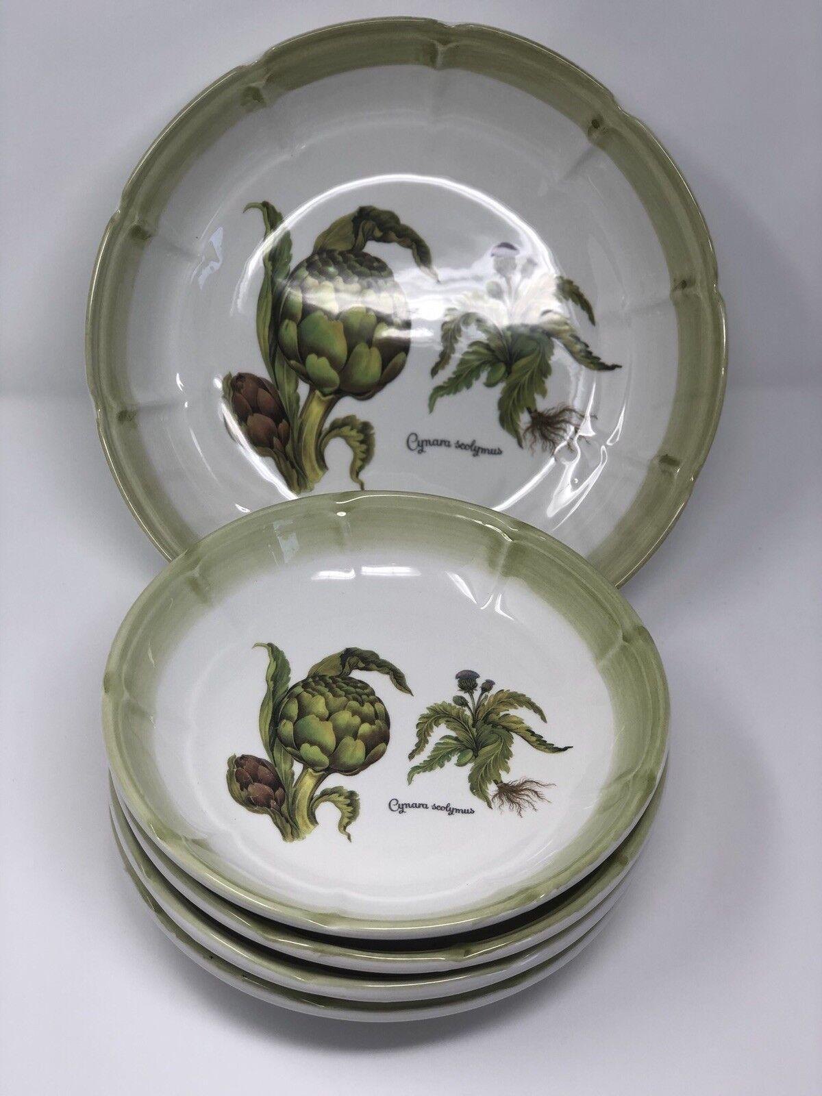 Bowl Set 5 Piece Large Serving Pasta  Ceramic