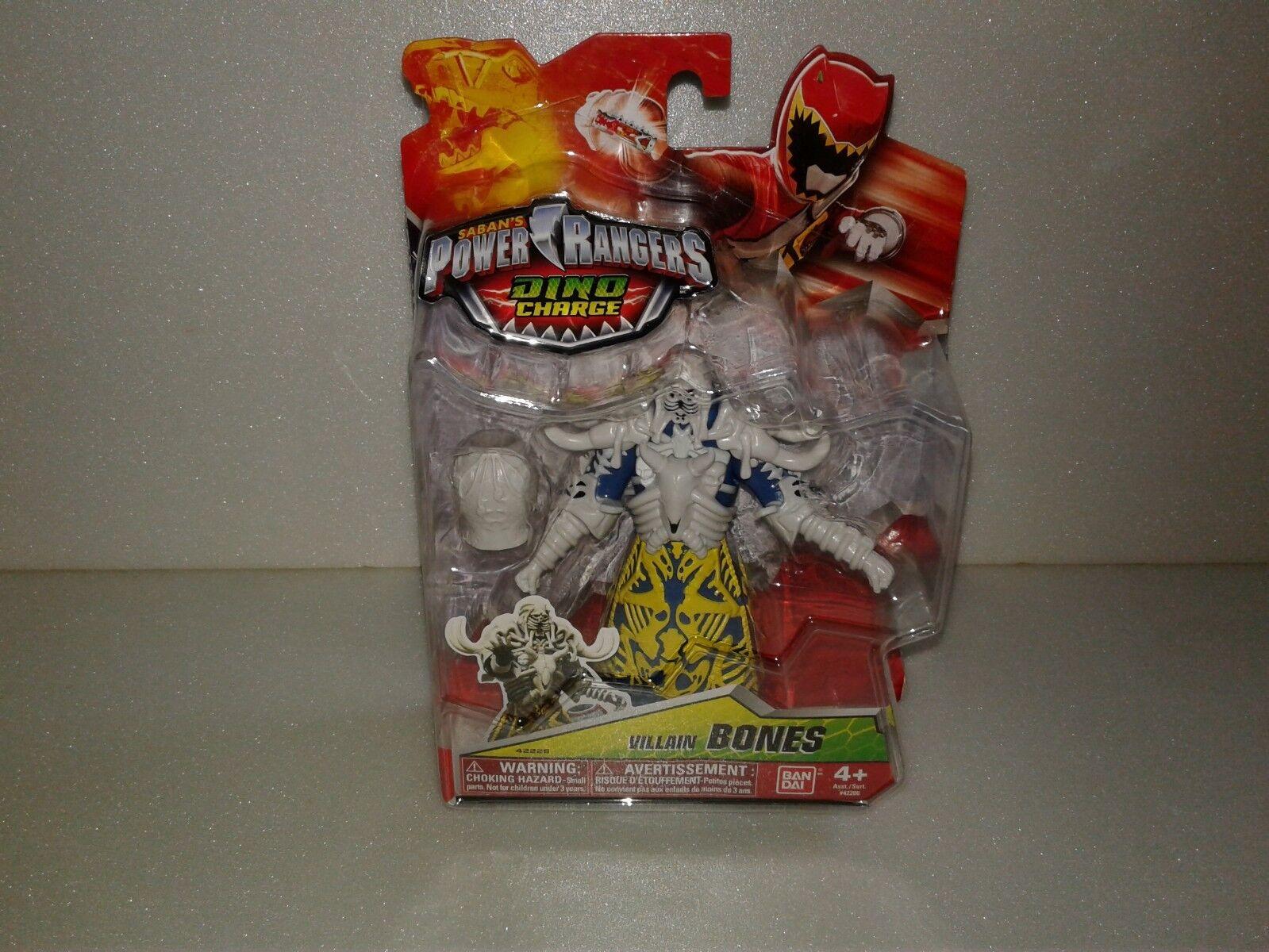 DINO CHARGE Power Rangers BONES VILLAIN VILLAIN VILLAIN 5  Action Figure 2015 NISP 449d5c