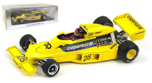 Spark F1 1 43rd scale S3930 - Copersucar F5 - E. Fittipaldi - Belgium GP 1977