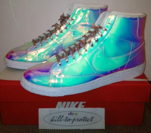 Us Qs 7 Nike 2014 900 Uk4 Wmns 5 Blazer 10 9 6 Iridescent 700869 Silver 8 Liquid wggqt4x