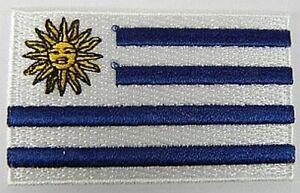 Uruguay-Aufnaeher-gestickt-Flagge-Fahne-Patch-Aufbuegler-6-5cm-neu