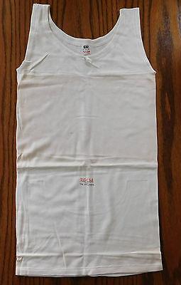 CC41 childs underwear sleeveless vest Vintage 1940s Nil Chil UNUSED shop soiled