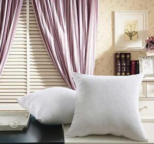 Hypoallergenic Cushion Throw Pillow Inserts Form Bed Sham
