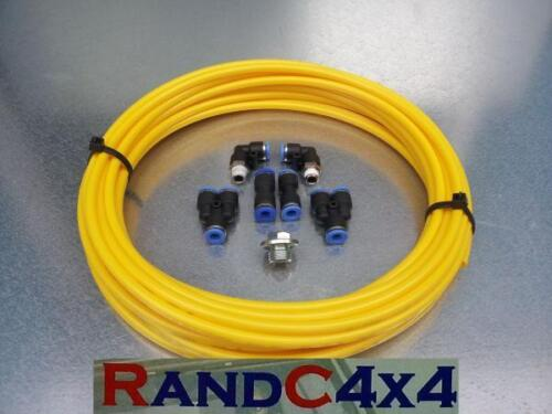 Land Rover Defender Wading Kit YELLOW V8 Engine Gearbox/'s and Axles