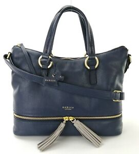 Radley-Shoulder-Cross-Body-Bag-Pickering-Medium-Handbag-Ink-Blue-Leather