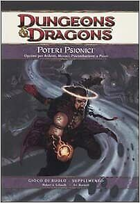 Dungeons & Dragons poteri Psionici supplemento ed.Wizard FF21