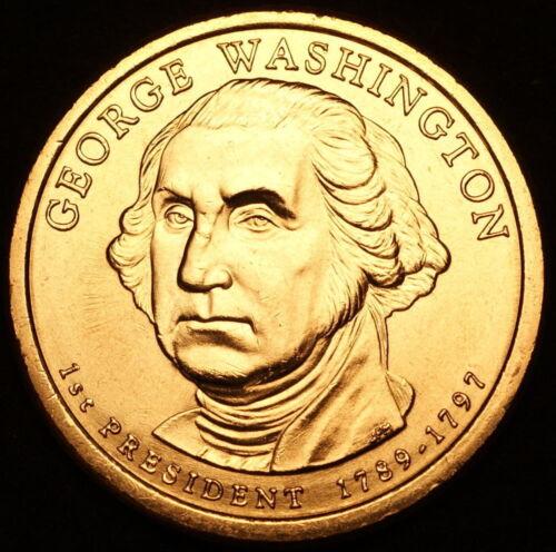 Mint Money Coins 2007 P George Washington Presidential One Dollar Coin U.S