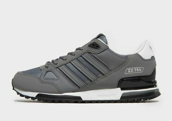 hot sale online 7b3c5 bd652 adidas Originals Mens ZX 750 Trainers Grey/White/Black Limited Stock  Exclusive