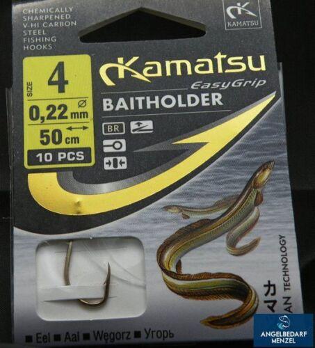 Kamatsu Baitholder K-110 Aalhaken Größe 2 4 oder 6