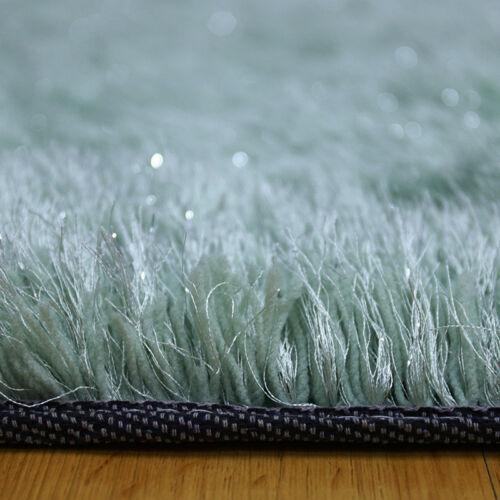 Rechteck Hochflor Shaggy Teppich Langflor mit 60mm Florhöhe 4 Größe Universal DE