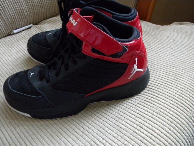 official photos 1916a afa02 Jordan BCT Mid 3 BG Kids Shoes Black White-Gym Red 684830-001