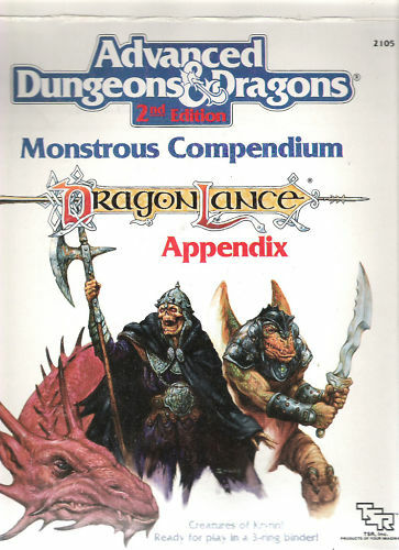 TSR AD&D MONSTROUS COMPENDIUMS MC MULTILISTING READ USE PULL DOWN MENU TAB FOR £