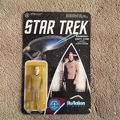 Star Trek TOS Beaming Captain Kirk ReAction Figure