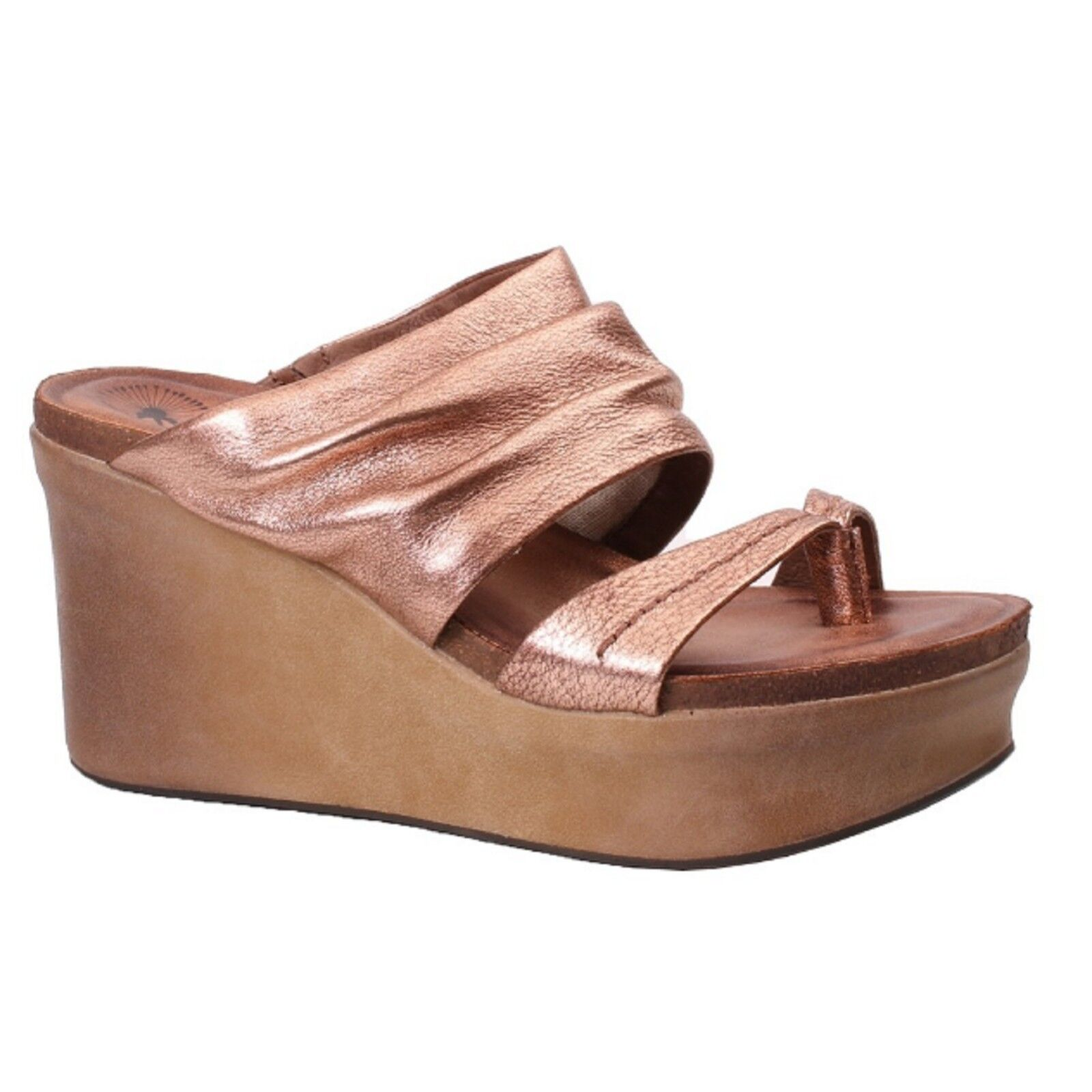 Women's Women's Women's OTBT TAILGATE Copper Wedge Heel Sandal shoes 5adc04