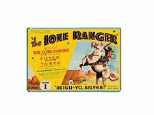 RETRO TV - THE LONE RANGER -  JUMBO FRIDGE / LOCKER MAGNET