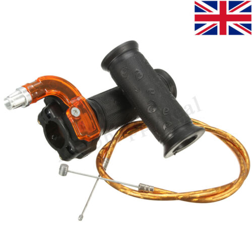 Restricter Twist Throttle /& Cable For 47cc 49cc MINI MOTO Pit Dirt Bike ATV QUAD