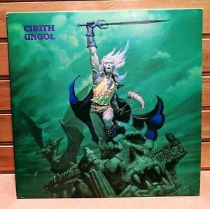 Cirith-Ungol-Frost-And-Fire-LP-TRUE-1st-Press-Liquid-Flames-Insert-NM-Rare