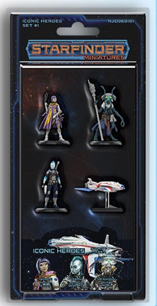 Estrella Finder miniatures  iconic Heroes set 1