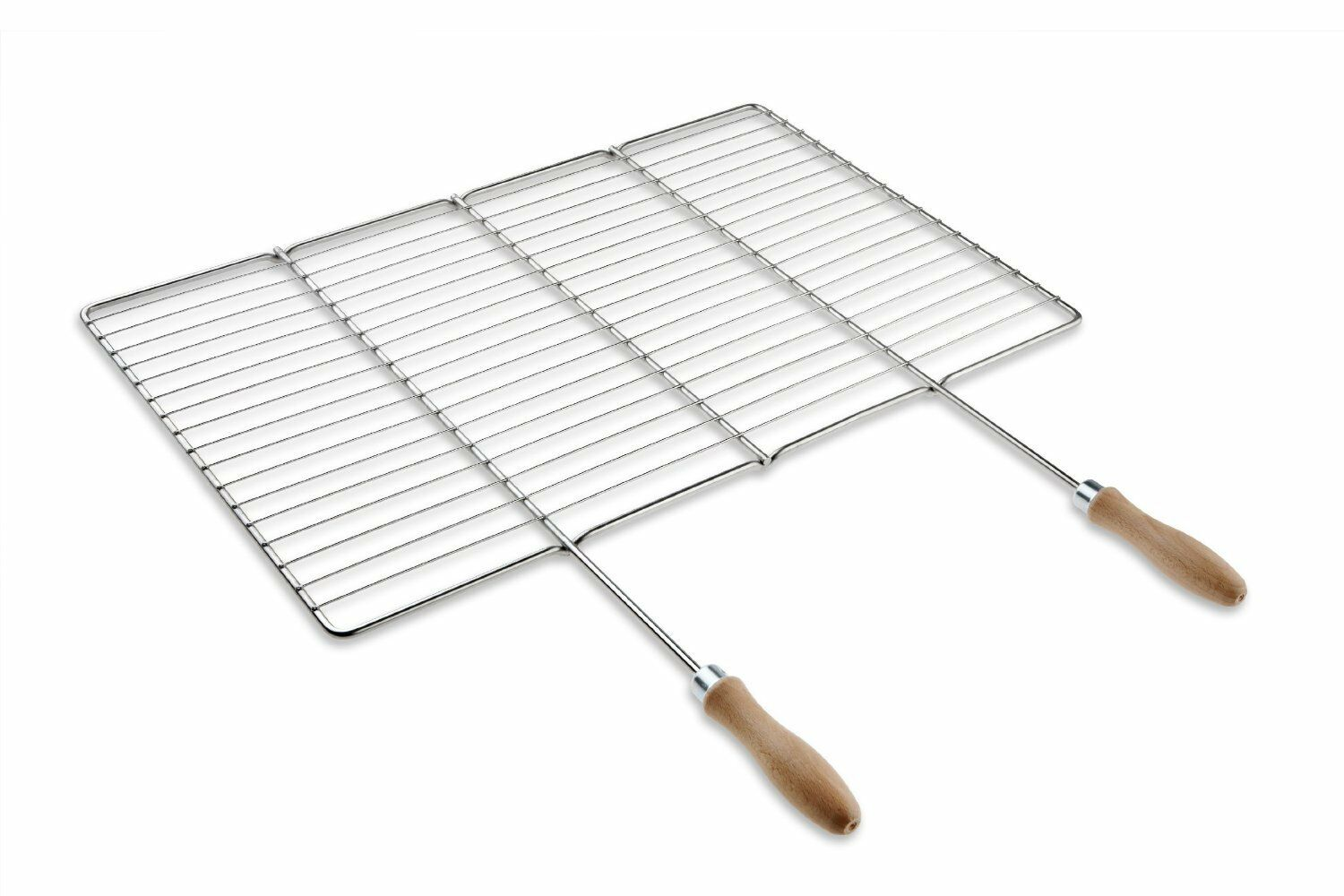 Stainless steel cooking and grill grate 58,5x30cm