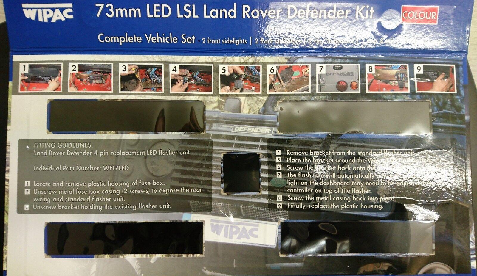 Wipac S6068led Land Rover Defender Led Light Lamp Upgrade Kit Set Ebay Fuse Box Location Norton Secured Powered By Verisign
