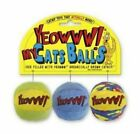 Yeowww My Cats Balls 3pack Cat Toys Catnip