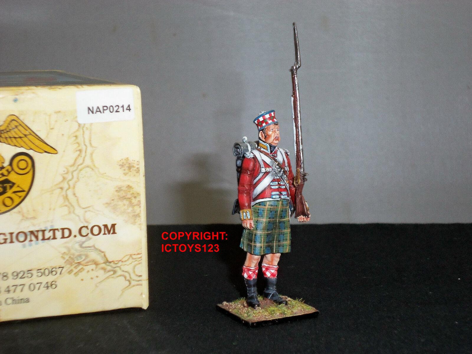 FIRST LEGION NAP0214 92ND GORDON HIGHLANDERS STANDING OVERWEIGHT TOY SOLDIER