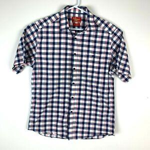 RM-Williams-Short-Sleeve-Shirt-Size-Men-039-s-Medium