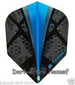 6 Dart Flights McCoy MAX POWER schwarz 150 Micron Slim