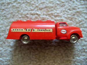 LEGO-HO-1-87-Vehicles-Vintage-Super-Rare-Red-Bedford-ESSO-Tank-Truck