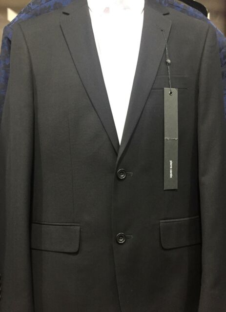 NEW Pierre Cardin Slim Fit Black Suit