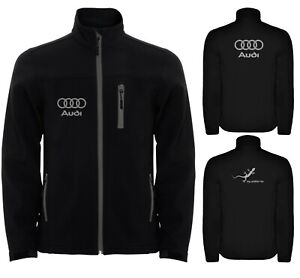 Audi-Softshell-Jacket-Travel-Parka-Coat-Veste-Outdoor-Blouson-Chaqueta-Giacca