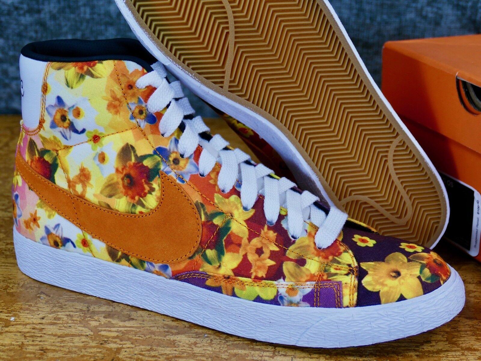 Nike Blazer Mid PRM VNTG QS - Floral pack NYC New York City 2018 kumquat black